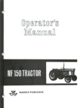 Massey Ferguson 150 Tractor Manual