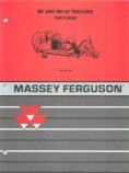 Massey Ferguson 50 Tractor - Parts Manual