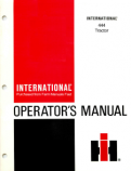 International 444 Tractor Manual