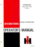 International 4386, 4586, and 4786 Tractor Manual