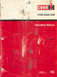 CaseIH 5100 Grain Drill Manual
