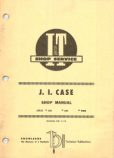 Case 500, 600, and 900B Tractor - Service Manual