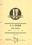 Case D, S, LA, VA Tractor - Service Manual