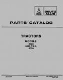 Allis-Chalmers 5020, 5020 FWD, and 5030 Tractor - Parts Catalog