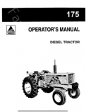 Allis-Chalmers 175 Tractor Manual
