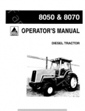 Allis-Chalmers 8050 and 8070 Tractor Manual