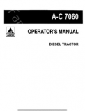 Allis-Chalmers 7060 Tractor Manual
