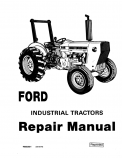 Ford 230A, 231, 335, 340A, 340B, 420, 445, 455A, 531, 532, 535, 540A, 540B, 545, and 545A Tractor - Service Manual