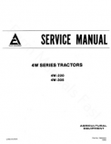 Allis-Chalmers 4W-220 and 4W-305 Tractors  - COMPLETE SERVICE MANUAL
