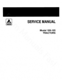 Allis-Chalmers 180 and 185 Tractors  - COMPLETE SERVICE MANUAL