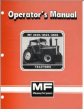 Massey Ferguson 3505, 3525, and 3545  Tractor Manual