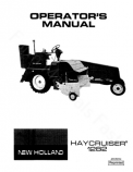 New Holland 1282 Haycruiser Baler Manual