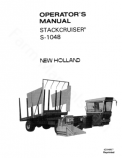 New Holland S-1048 Stackcruiser Bale Wagon Manual