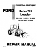 Ford 745 (19-854, 19-855, 19-856, 19-857, and 19-858) Loader - Service Manual