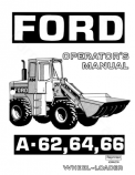 Ford A-62, A-64, and A-66 Wheel-Loader - Operator's Manual