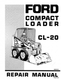 Ford CL-20 Compact Loader - Service Manual