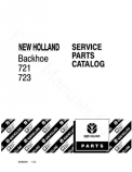 Ford 721 and 723 Backhoe - Parts Catalog
