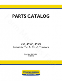 Ford 455 and 455C Tractor-Loader-Backhoe - Parts Catalog