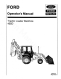 Ford 455D Tractor-Loader-Backhoe Manual