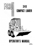 Ford 340 Compact Loader Manual