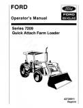 Ford 7209 Loader Manual