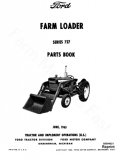 Ford 727 Loader - Parts Catalog