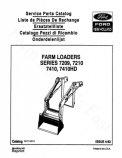 Ford 7209, 7210, 7410, and 7410HD Loader - Parts Catalog