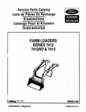 Ford 7412, 7412HD, and 7413 Loader - Parts Catalog