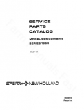 New Holland 995 Combine - Parts Catalog