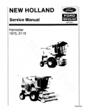 New Holland 1915 and 2115 Harvester - Service Manual