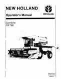 New Holland TR95 Combine Manual