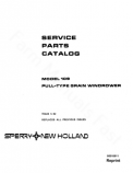 New Holland 109 Windrower - Parts Catalog