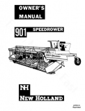 New Holland 901 Speedrower Manual