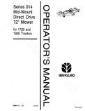 New Holland 914 Mower Manual
