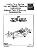 New Holland 914 Mower - Parts Catalog