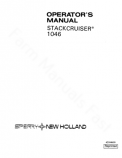 New Holland 1046 Stackcruiser Manual