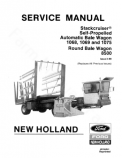 New Holland 1068, 1069, 1075 and 8500 Bale Wagon - Service Manual
