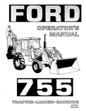 Ford 755 Tractor-Loader-Backhoe Manual