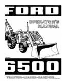 Ford 6500 Tractor-Loader-Backhoe Manual