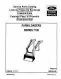 Ford 7109 Loader - Parts Catalog