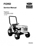Ford 1110 and 1210 Tractor - Service Manual