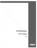 Case IH 1275 Windrower - Parts Catalog