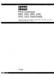 David Brown 885, 885G, 885N, 990, 995 and 996 Tractor - Parts Catalog
