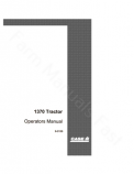 Case 1370 Tractor Manual