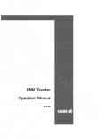 Case 2590 Tractor Manual