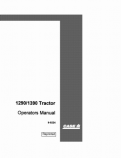 Case 1290 and 1390 Tractor Manual