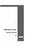 Case 800 and 800B Tractor Tractor Manual