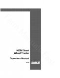Case 900B Tractor Manual