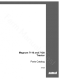 Case IH 7110 and 7120 Tractor - Parts Catalog