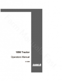 Case IH 1896 Tractor Manual